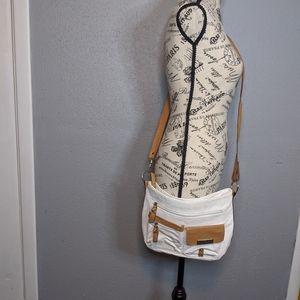 Rosetti This n That White Convertible Hobo Bag